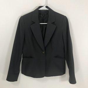 Ann Klein 0P dark grey woman blazer